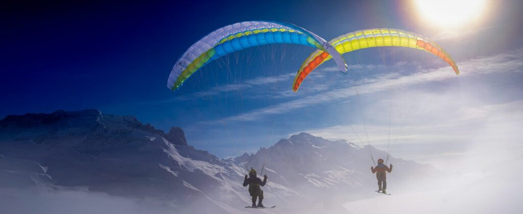Airdesign new UFO single surface by XC Paragliding in South Africa