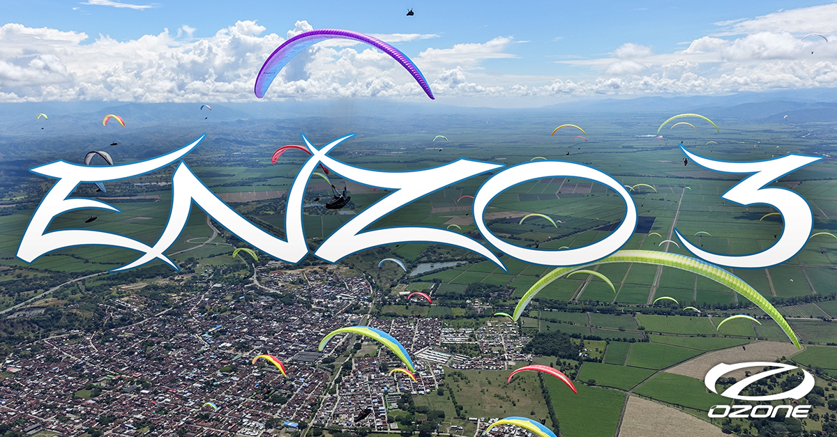 Ozone Enzo 3 by XC Paragliding in South Africa