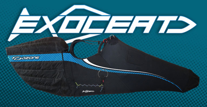 Ozone Exoceat harness by XC Paragliding in South Africa