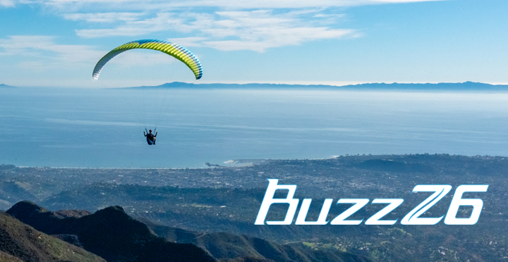 Ozone Buzz Z6 paraglider by XC Paragliding in South Africa