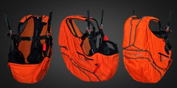 Avasport AcroBase paragliding harness by XC Paragliding in South Africa