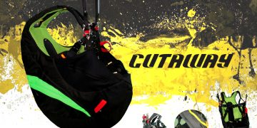 Avasport CutAway paragliding harness by XC Paragliding in South Africa