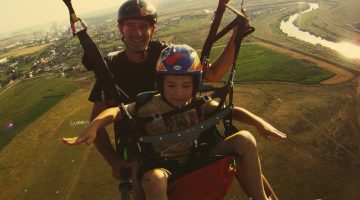 Avasport Kid tandem paragliding harness by XC Paragliding in South Africa