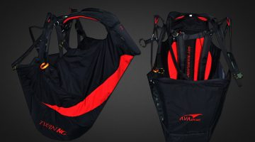 Avasport Twin NG tandem paragliding harness by XC Paragliding in South Africa