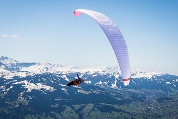 Kortel Design Kross paraglider in South Africa with XC Paragliding