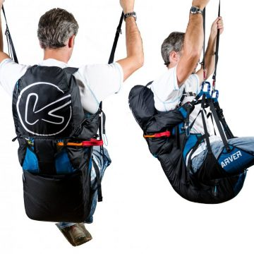 Kortel Design Tandem module paragliding harness in South Africa by XC Paragliding