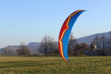 Ozone Freeride paramotor wing by XC Paragliding in South Africa