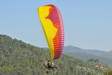 Ozone Magmax paramotor wing by XC Paragliding in South Africa