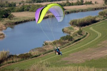 Ozone Sirocco 2 paramotor wing by XC Paragliding in South Africa