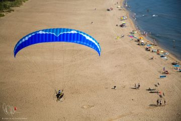 Ozone Spark by paramotor wing XC Paragliding in South Africa