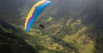 Ozone Delta 4 paraglider by XC Paragliding in South Africa