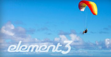 Ozone Element 3 paraglider by XC Paragliding in South Africa