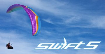 Ozone Swift 5 paraglider by XC Paragliding in South Africa