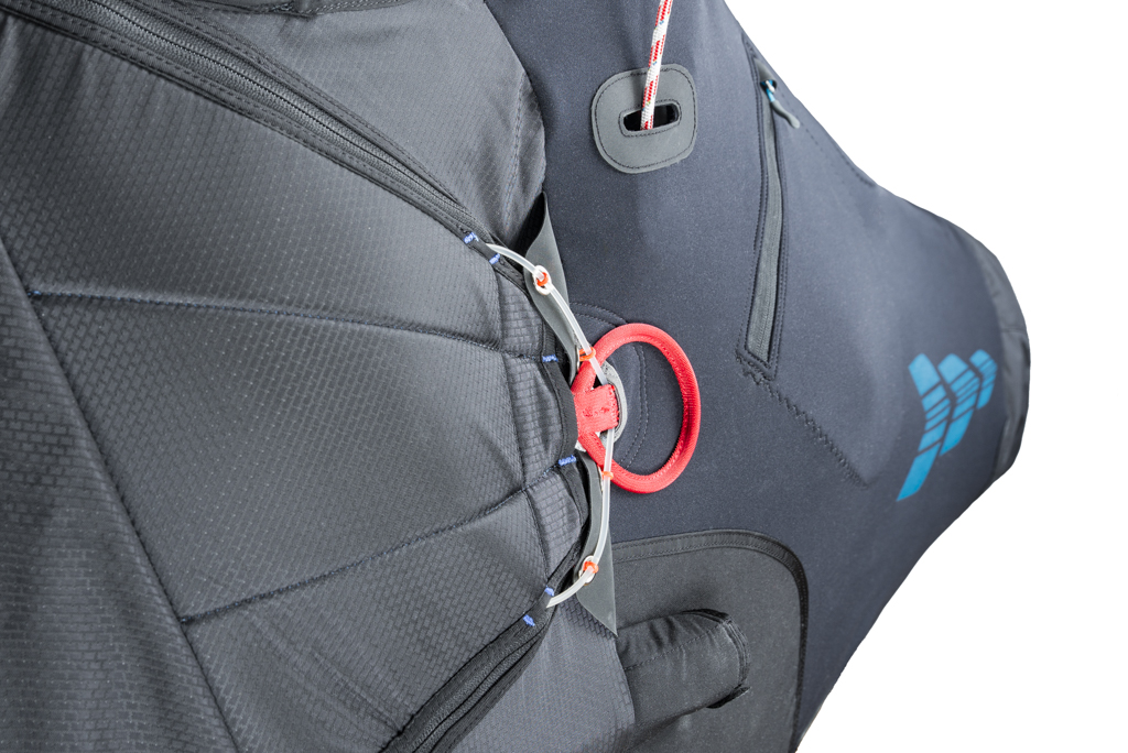 Kortel Design Kanibal Race II paragliding harness reserve in South Africa by XC Paragliding
