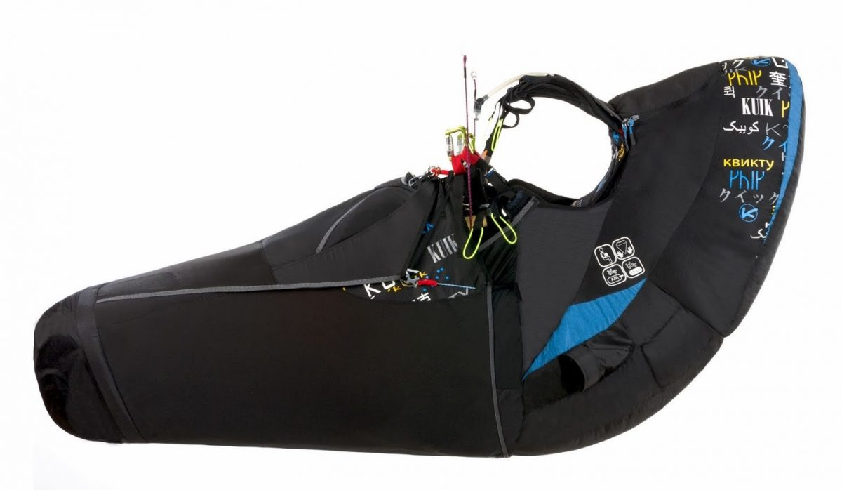 Kortel Kuik II paraglding harness with kocon module in South Afrika by XC Paragliding