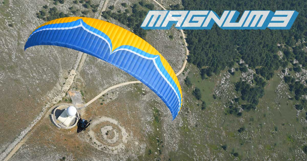 Ozone Magnum 3 tandem paraglider by XC Paragliding in South Africa