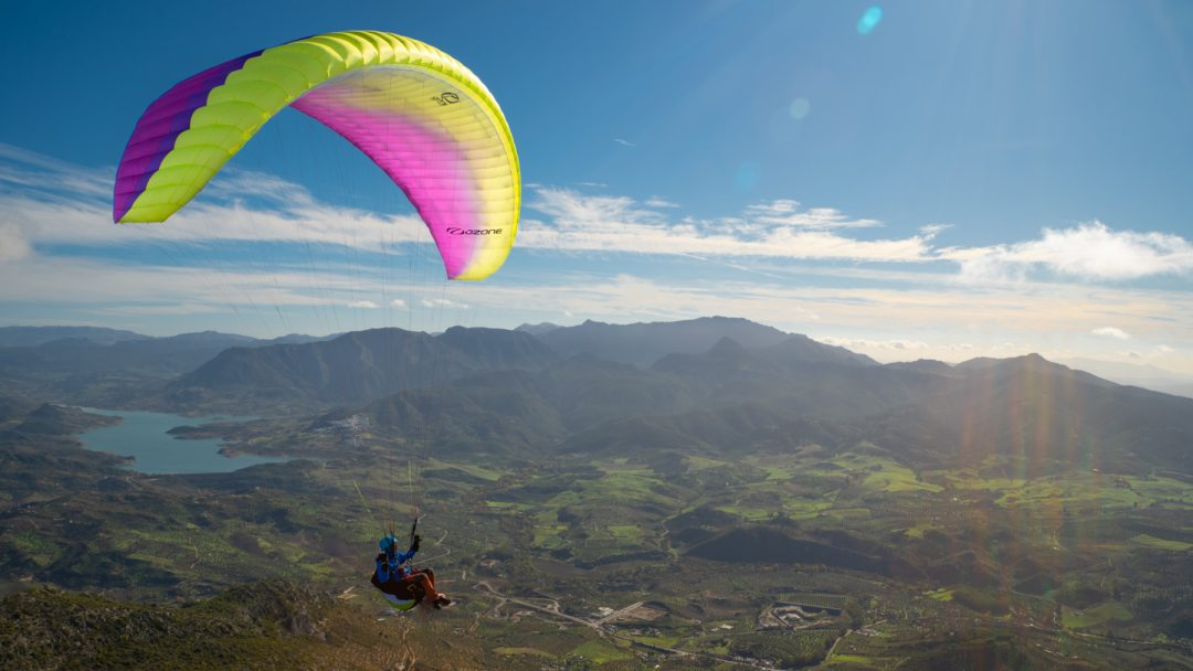 Ozone Mojo 6 paraglider by XC Paragliding in South Africa