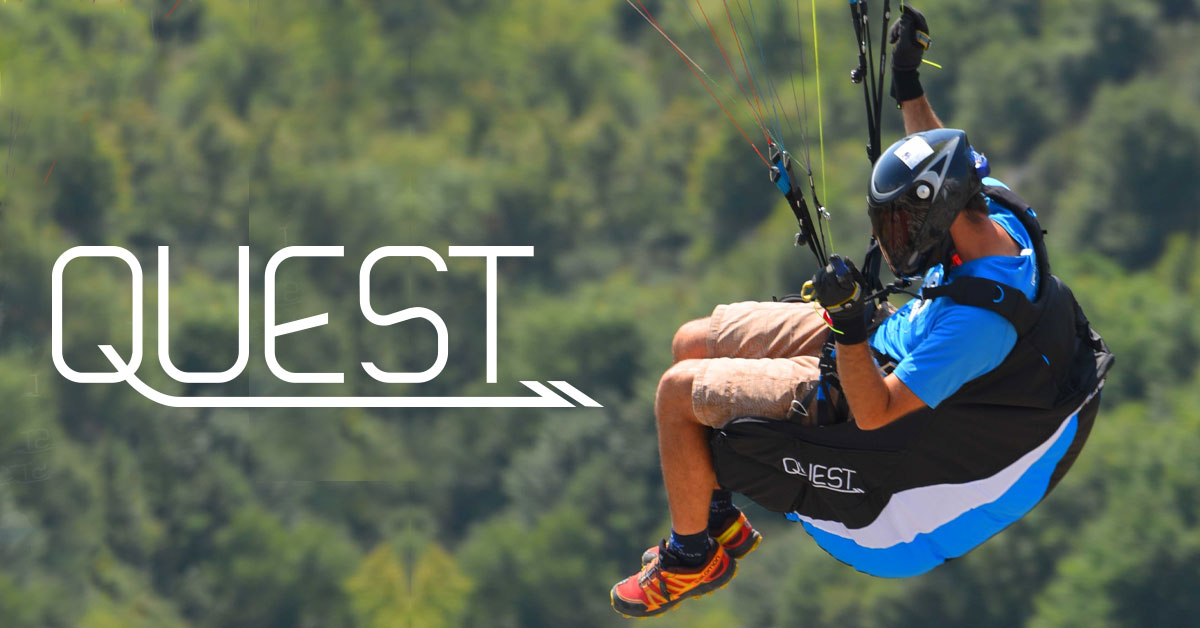 Ozone Quest paragliding harness by XC Paragliding in South Africa